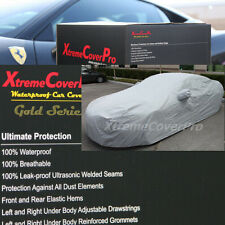 2015 MAZDA MAZDA3 5-DOOR HATCHBACK Waterproof Car Cover w/Mirror Pockets - Gray