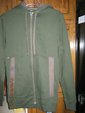 Under Armour Long Sleeve Polyester Doublure Elastane Solid Greens Hoodie S