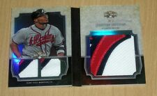 2013 Topps Triple Threads jumbo PATCH relic plus Justin Upton 3/3 SICK PATCHES