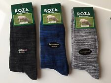 3 Pairs MENS THICK CHUNKY WOOL WORK HIKING BOOT SOCKS WARM SIZE UK  6-11 KMSGG