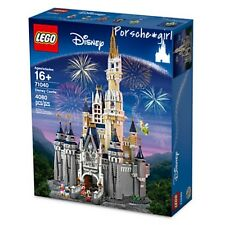 MINT Lego Walt Disney Resort Castle 71040 Mickey Minnie Donald Daisy Tinkerbell
