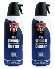 2 x Dust Off - The Original Compressed Duster 300ml / Gaming / PC / Keyboard