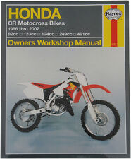 HAYNES Repair Manual - Honda CR125R, CR250R, CR500R (1986-2007)