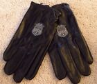 Harley Davidson Motorcycle Gloves Police 1 Premium Cabretta Leather Size XL