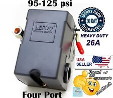 Pressure Switch for Air Compressor 95-125psi FOUR 4 PORT H/D 26A with unloader