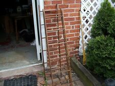 Rustic Barn Wood  4 foot Ladder Primitive Antiqued  Quantity of ONE