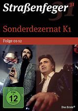 4 DVDs * STRAßENFEGER 31 -  SONDERDEZERNAT K1 , FOLGEN 01-12 # NEU OVP^