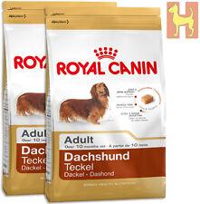 2x7,5= 15 kg Royal Canin Breed Dachshund Adult - Hundefutter für Dackel / Teckel