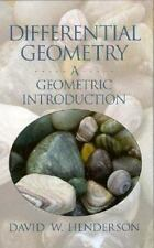 Differential Geometry: A Geometric Introduction, David W. Henderson, Good Book