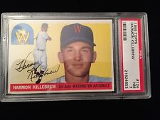1955 TOPPS Harmon Killebrew PSA 7 Perfect Centering!