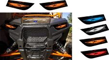 POLARIS 1000 RZR XP EPS 4 HEADLIGHT DECALS STICKER utv SIDE X RED ORANGE BLUE 4