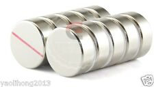 5PCS Strong N52 Neodymium Magnets Rare Earth Round Disc Fridge Craft 30mm x 10mm