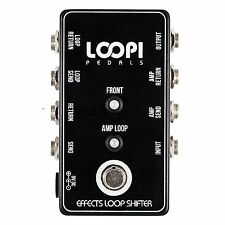 Effects Loop Switcher Pedal - True Bypass - Loopi Pedals