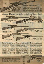 1967 ADVERT Daisy 3 Way Pellet Air Rifle Spittin Image BB Gun 96 Lever Action