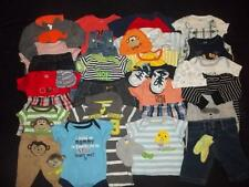 Baby Boy Newborn 0-3M 3M Summer Outfits Clothes Lot NB 0 3 Months FREE SHIPPING!