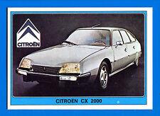 SUPER AUTO - Panini 1977 -Figurina-Sticker n. 85 - CITROEN CX 2000 -New