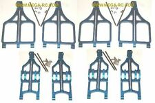 T-MAXX 2.5 3.3 E-MAXX GPM ALUMINUM A-ARM SET ALL 8 ARMS BLUE TMX2054 TMX2055
