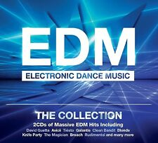 EDM-THE COLLECTION 2 CD NEW+ /DAVID GUETTA/GOLDPLAY/FLO RIDA/BRUNO MARS/AVICII