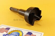 "DrillHog 2-1/8"" Self Feed Bit Wood Hole Saw 2-1/8 Forstner Lifetime Warranty USA"