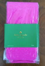 Womens Kate Spade Sz S M Small Medium Footed Hot Pink Animal Tights 95-140 Lbs