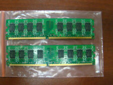 Brand 4GB 2X2GB DDR2 2RX8 PC2-5300U 800MHz 240PIN DIMM Intel RAM Desktop memory