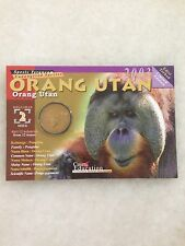 (JC) Endangered Animals - Orang Utan (25 sen) Coin Card - No.2
