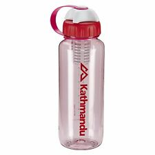 Kathmandu Coconut Base Drink Bottle with Charcoal Filter 650ml BPA Free Red