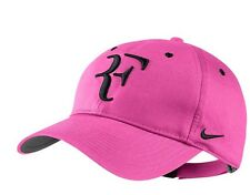 Roger Federer RF Nike Tennis Hat Cap - Pink / Black!