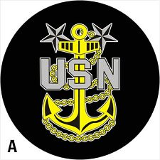 USN Navy Spare Tire Cover Jeep RV Camper VW Trailer etc(all sizes available)