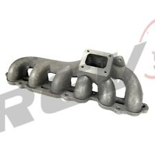 REV9 86-92 TOYOTA SUPRA 7MGTE CAST IRON TURBO EXHAUST MANIFOLD T4 FLANGE 7M JZA7