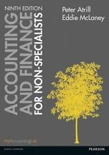 Accounting and Finance for Non-Specialists 9th Edition 9E by Atrill