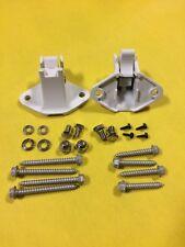 A&E Awning Universal Mounting Bracket Kit 3312931003B Polar White