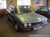 1986 BMW 5 Series E28 528i SE 4 Door Saloon 4 door Saloon