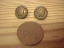 MILITARY. BUTTONS, INDIAN ARMY ORDNANCE CORPS CHIN STRAP / HAT 13MM BUTTONS
