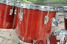 "ADD this 1982 TAMA SUPERSTAR 13"" CHERRY WINE RED TOM to YOUR DRUM SET! LOT #T908"