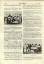 1896 Mr Jr Mason Cricket Photo Cape Coast Castle Cricket Team
