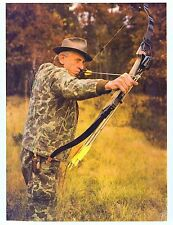 "Fred Bear Photograph 11"" x 8 1/2"" Reproduction archery"