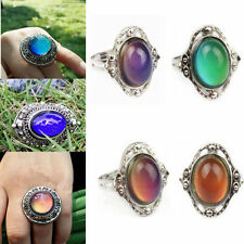1pcs Changing Color Mood Ring Jewelry Women Chic Temperature Control Adjustable