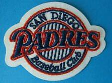 (2) San Diego Padres Embroidered Team Logo Patches (Logo for 1999 - 2003)