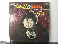 THE STRANGE CASE OF DR. JEKYLL & MR HYDE Read by Tom Baker ARGO DOUBLE VINYL LP
