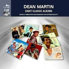 Dean Martin EIGHT (8) CLASSIC ALBUMS Sleep Well DINO ITALIAN LOVE SONGS New 4 CD