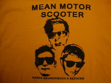 Mean Motor Scooter Band Naked Brunch / Such A Seducer Tour T Shirt Size XL