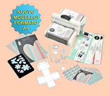 FUSTELLATRICE SIZZIX BIG SHOT PLUS FORMATO A4 661546 NEW NUOVO STARTER KIT
