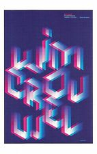 "POSTCARD Wim Crouwel ""A Graphic Odyssey"" Exhibition Poster Design Museum MINT"