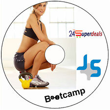 KETTLEBELL BOOTCAMP WORKOUT FITNESS DVD-shred fat weight loss flat abs excercise