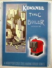 KEWANEE Electric-Weld Steel Boiler Catalog ASBESTOS History 1930's