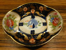 """Outstanding vintage english hand painted Crown Staffordshire bowl 5"""""""