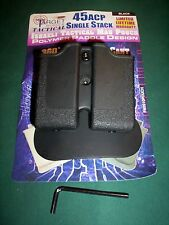 New 2 MAG MAGAZINE SWIVEL POUCH 1911 SIG 220 S&W 4506 4516 Holster Case Holder