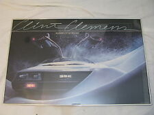 Delorean Blizzard Of the Eighties Poster Clint Clemens 1983 80s Rare Oop 80's