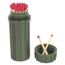 Survival Waterproof Matchbox Holder Container - Includes Striking Surface